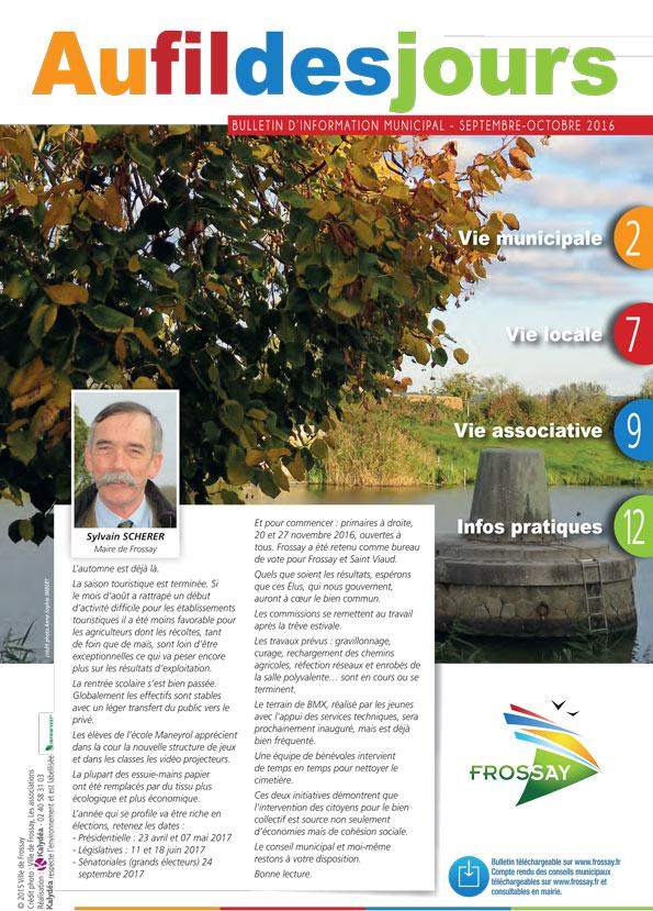 BULLETIN MUNICIPAL OCTOBRE 2016 2 1